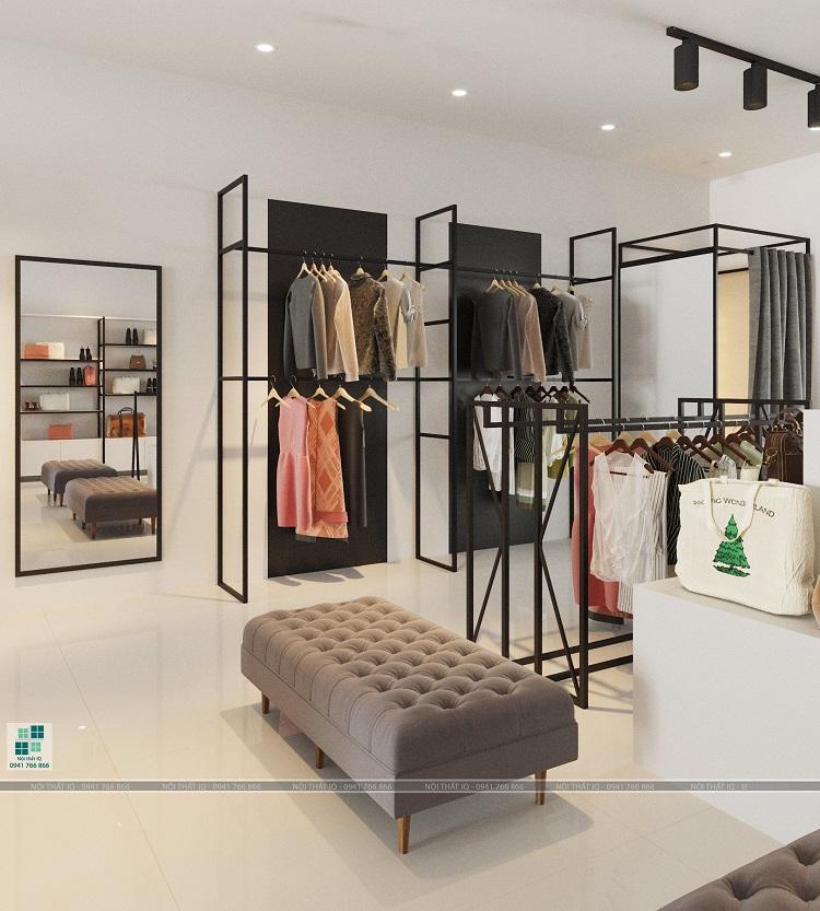 thiết kế shop quần áo, lưu niệm tại hải phòng