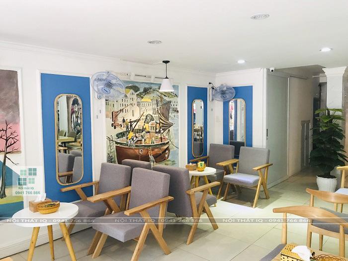 thiết kế trọn gói nội thất quán cafe lula's