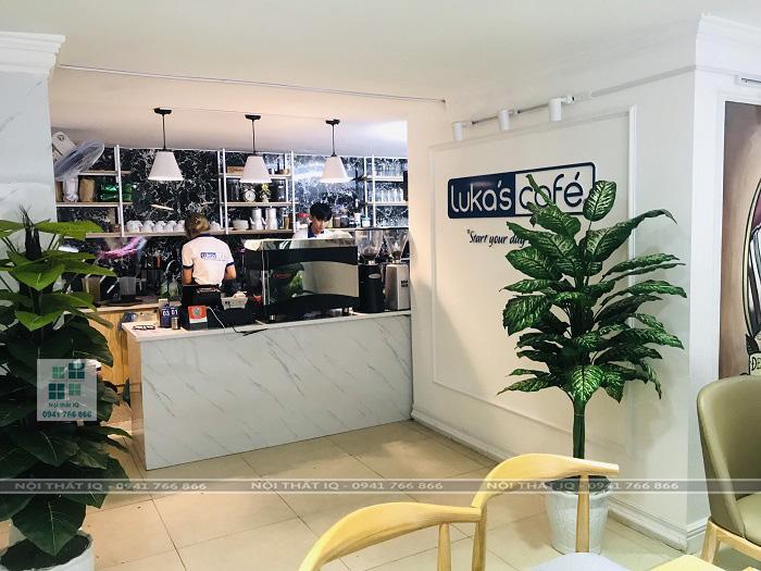 thiết kế trọn gói nội thất quán cafe đẹp tại hải phòng