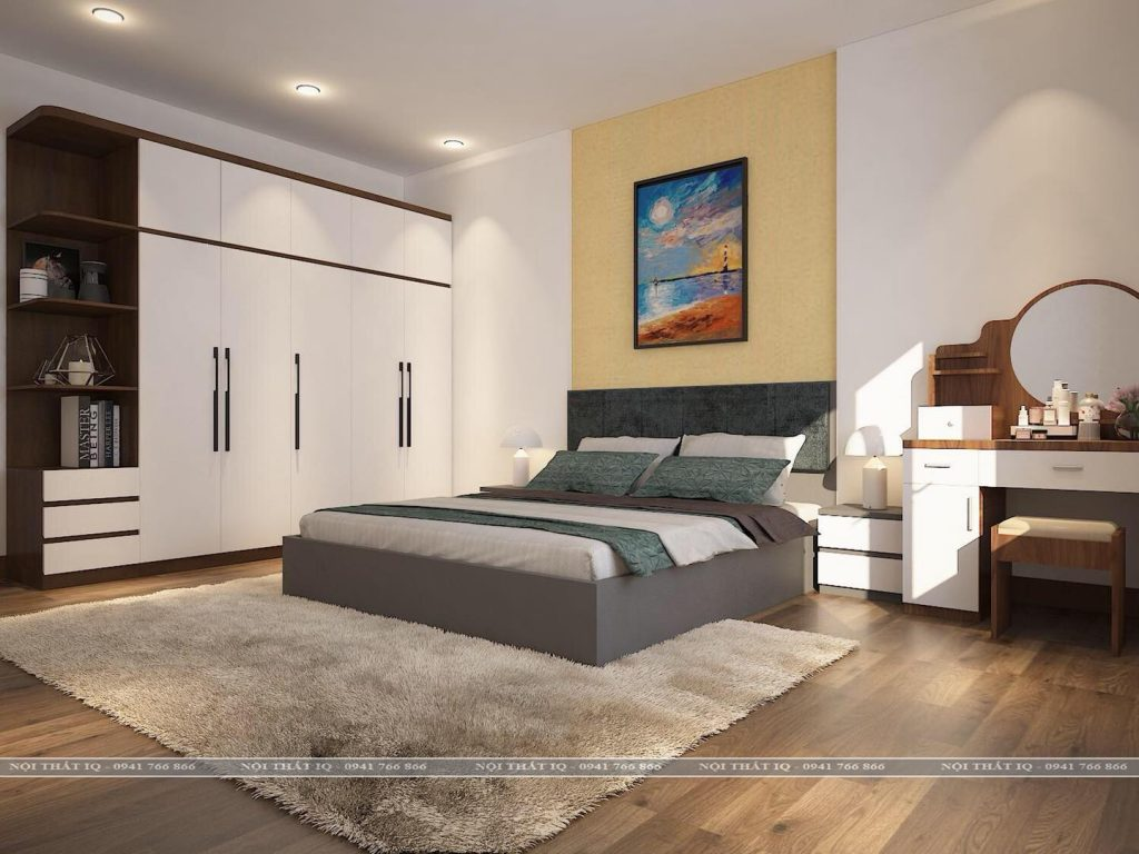 thiết kế phòng ngủ tại Kiến An Hải Phòng