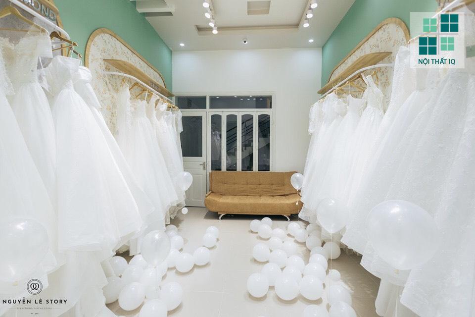 thiết kế showroom áo cưới tại hải phòng đẹp
