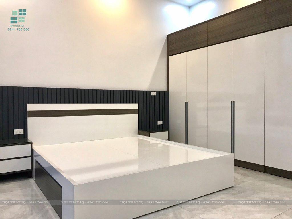 Trọn bộ nội thất phòng ngủ cho khách hàng tại phường Anh Dũng, Dương Kinh