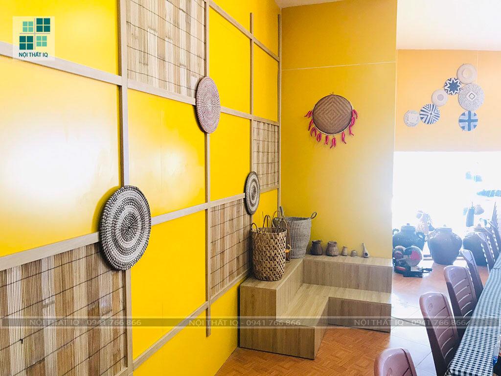 mẫu thiết kế nhà hàng đẹp tại Hải Phòng