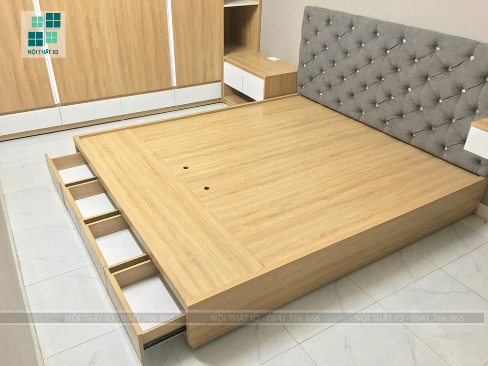 Thiết kế phòng ngủ trọn gói cho anh Thuận tại Hải Thành, Dương Kinh
