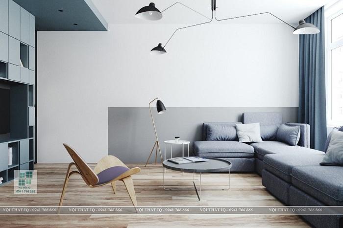 Thiết kế phòng khách theo phong cách tối giản