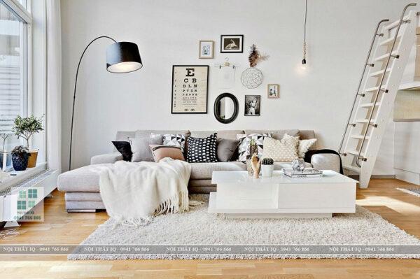 Thiết kế phòng khách 24m2 đẹp