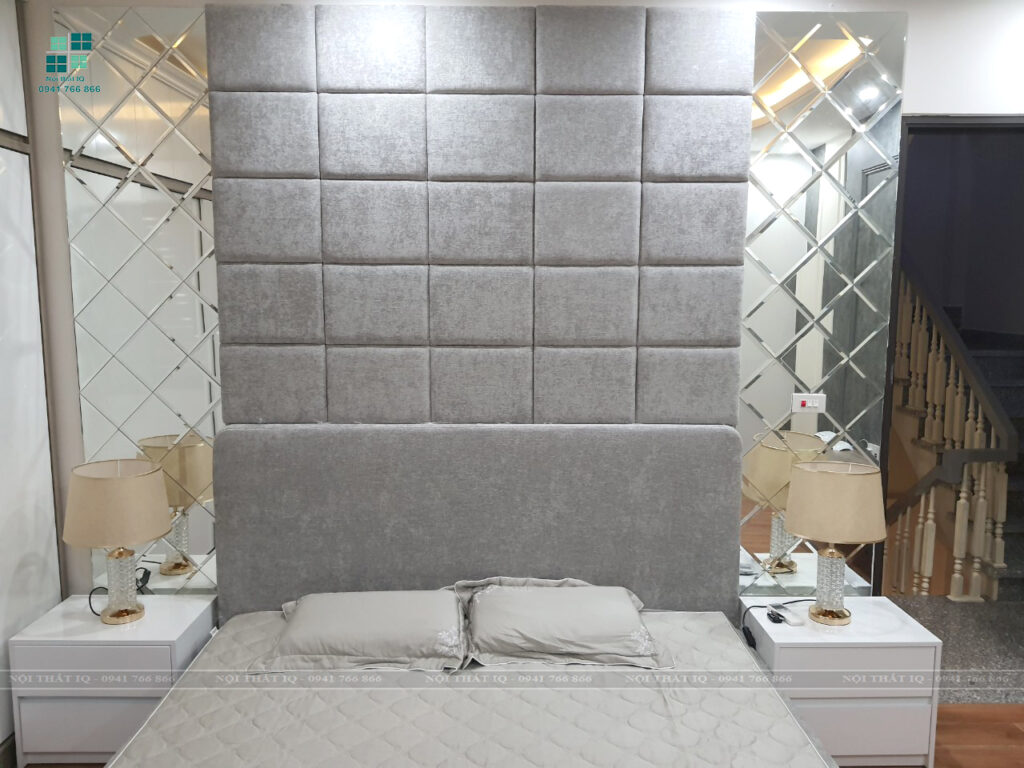 thiết kế thi công phòng ngủ 25m2 tại hải phòng